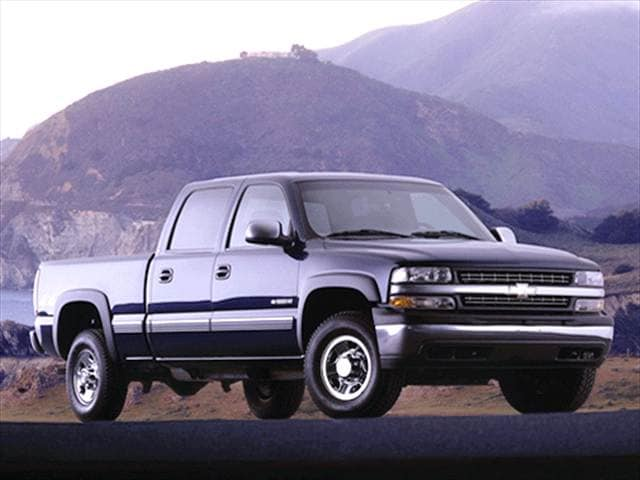 Most Popular Trucks of 2002 - 2002 Chevrolet Silverado 1500 HD Crew Cab