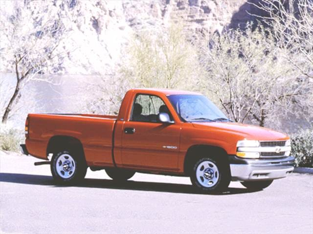 Most Popular Trucks of 2002 - 2002 Chevrolet Silverado 1500 Regular Cab