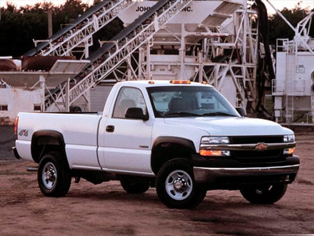 Highest Horsepower Trucks of 2002 - 2002 Chevrolet Silverado 2500 Regular Cab