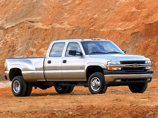Top Consumer Rated Trucks of 2002 - 2002 Chevrolet Silverado 3500 Crew Cab
