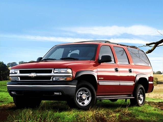 Highest Horsepower SUVs of 2002 - 2002 Chevrolet Suburban 2500