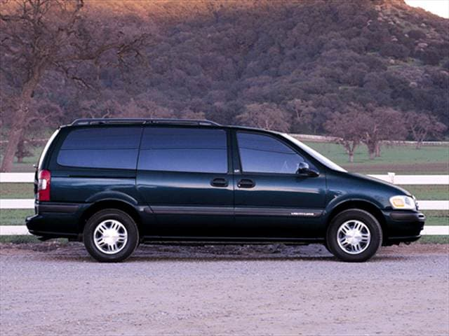 Most Fuel Efficient Vans/Minivans of 2002 - 2002 Chevrolet Venture Passenger