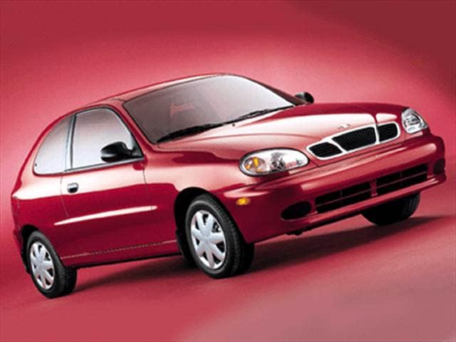 Most Fuel Efficient Coupes of 2002 - 2002 Daewoo Lanos