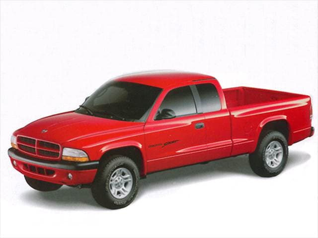 Most Fuel Efficient Trucks of 2002 - 2002 Dodge Dakota Club Cab