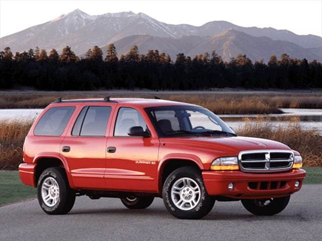 Most Popular SUVs of 2002 - 2002 Dodge Durango