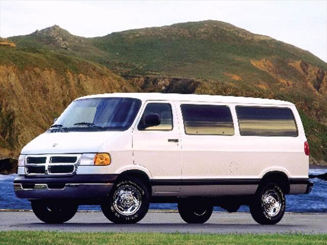 Dodge Ram Wagon Frontside Dtraw on 1997 Dodge Van Mpg