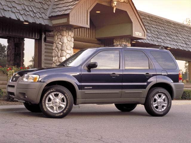Top Consumer Rated Wagons of 2002 - 2002 Ford Escape