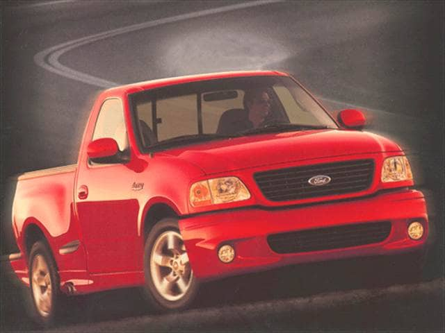 2002 ford f150 regular cab lightning short bed used car prices kelley blue book. Black Bedroom Furniture Sets. Home Design Ideas