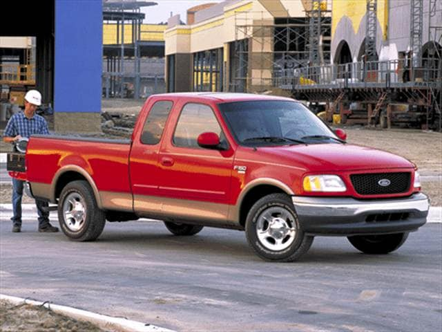 Top Consumer Rated Trucks of 2002 - 2002 Ford F150 Super Cab