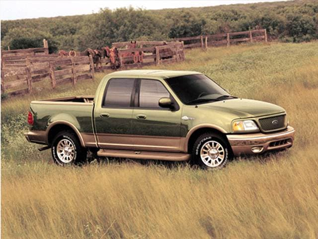 2002 ford f150 supercrew cab king ranch 4d used car prices. Black Bedroom Furniture Sets. Home Design Ideas