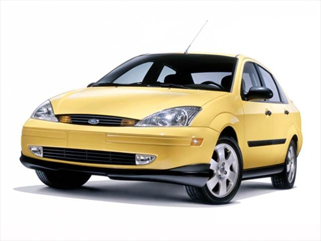 Most Popular Sedans of 2002 - 2002 Ford Focus