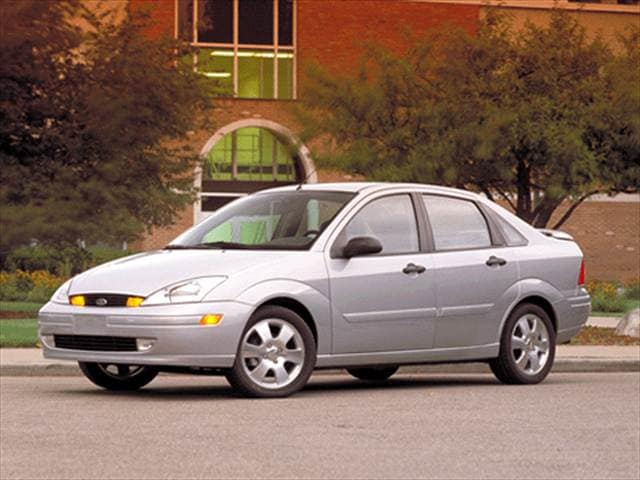 Most Fuel Efficient Sedans of 2002 - 2002 Ford Focus