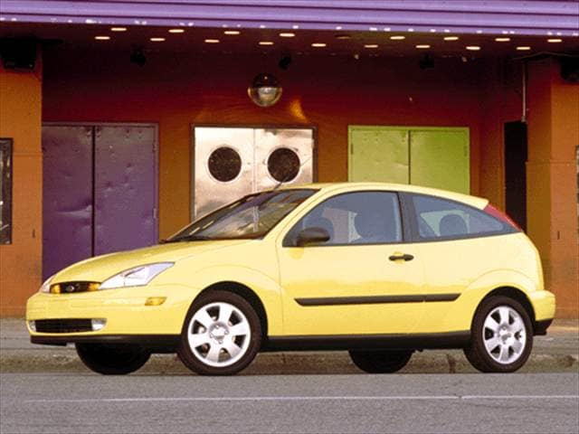 Most Popular Coupes of 2002 - 2002 Ford Focus