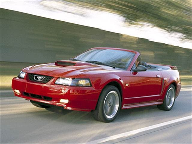 Most Fuel Efficient Convertibles of 2002 - 2002 Ford Mustang