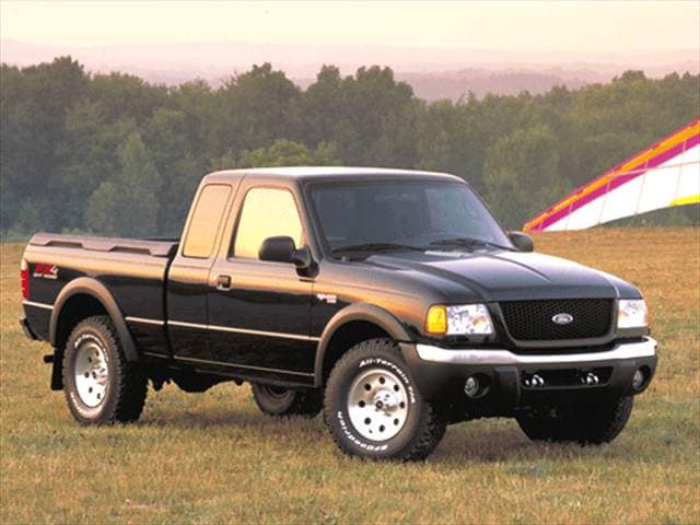 Most Fuel Efficient Trucks of 2002 - 2002 Ford Ranger Super Cab
