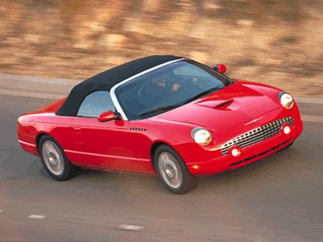Top Consumer Rated Convertibles of 2002 - 2002 Ford Thunderbird
