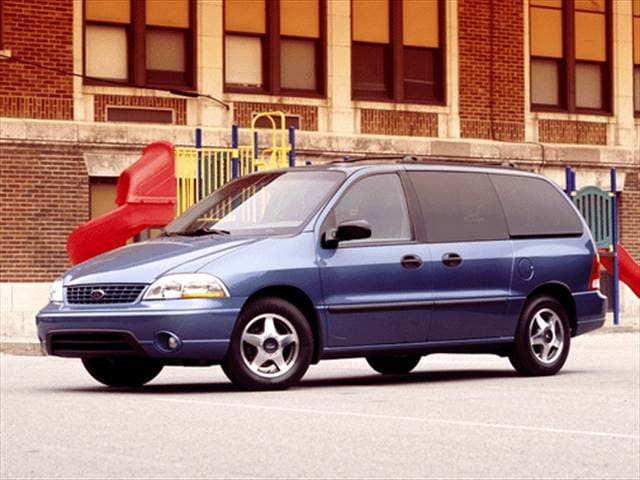 Most Fuel Efficient Vans/Minivans of 2002 - 2002 Ford Windstar Passenger