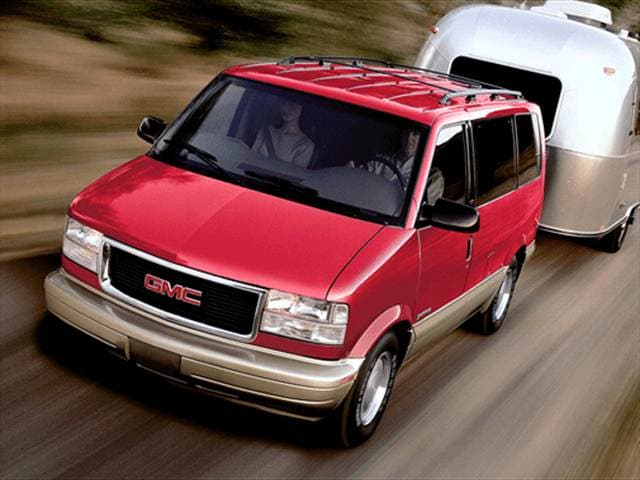 Top Consumer Rated Vans/Minivans of 2002 - 2002 GMC Safari Passenger