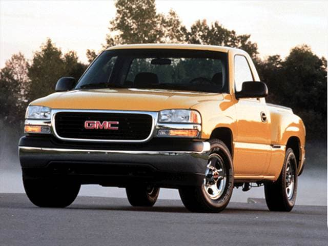 Most Popular Trucks of 2002 - 2002 GMC Sierra 1500 Regular Cab