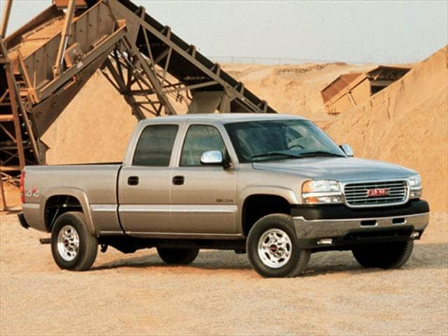 Highest Horsepower Trucks of 2002 - 2002 GMC Sierra 2500 HD Crew Cab