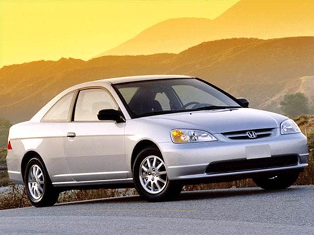 Most Popular Coupes of 2002 - 2002 Honda Civic