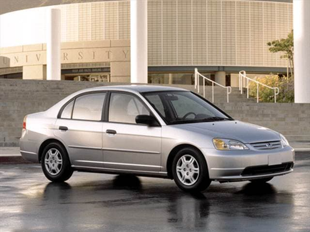 Most Popular Sedans of 2002 - 2002 Honda Civic