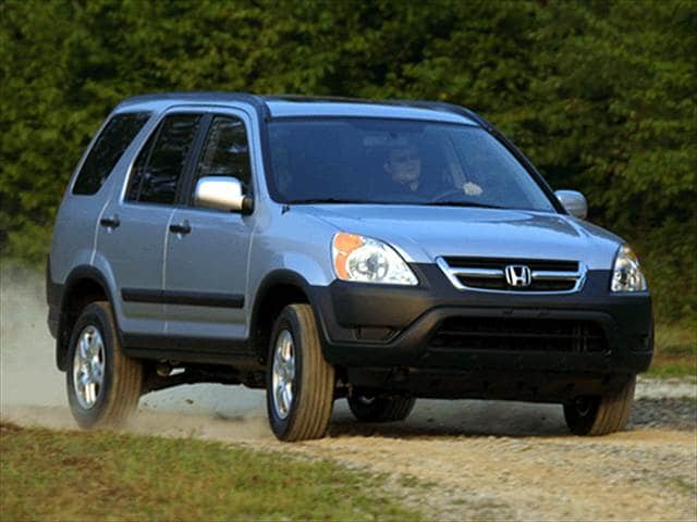Most fuel efficient crossovers of 2002 kelley blue book for Honda cr v fuel economy