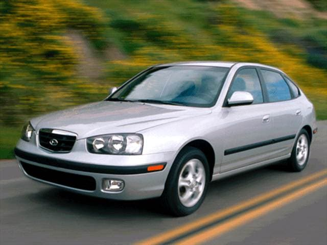 Most Popular Hatchbacks of 2002 - 2002 Hyundai Elantra