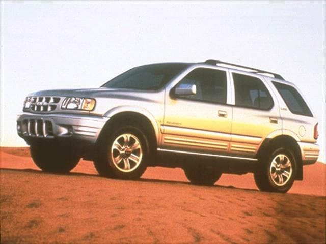 Most Fuel Efficient SUVs of 2002 - 2002 Isuzu Rodeo
