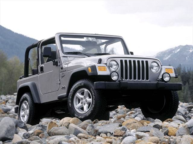Most Popular SUVs of 2002 - 2002 Jeep Wrangler