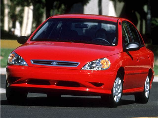 Used 2002 Kia Rio Sedan 4d Pricing