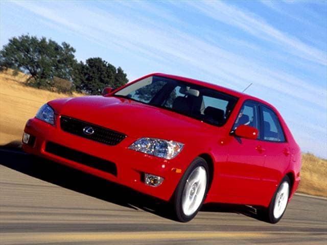 Top Consumer Rated Luxury Vehicles of 2002 - 2002 Lexus IS