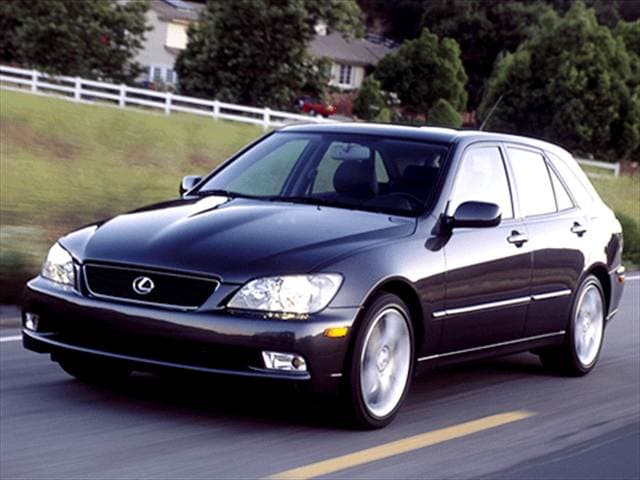 Highest Horsepower Hatchbacks of 2002 - 2002 Lexus IS