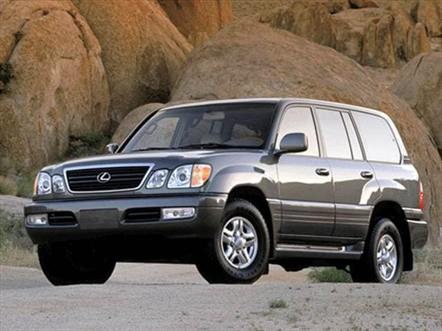 Top Consumer Rated Luxury Vehicles of 2002 - 2002 Lexus LX