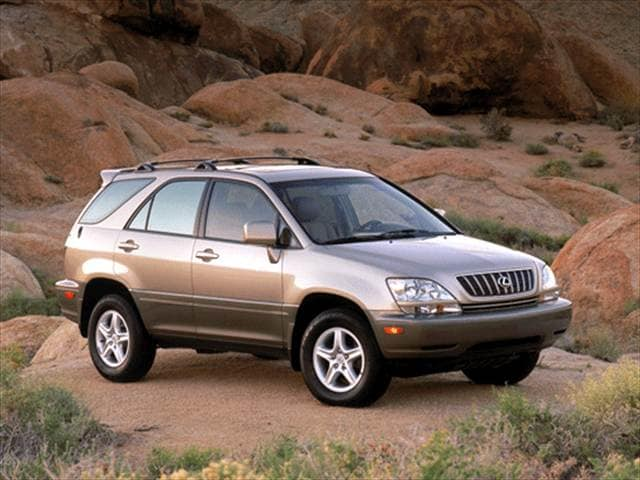 Most Popular Crossovers of 2002 - 2002 Lexus RX