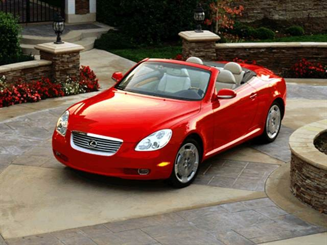 Top Consumer Rated Luxury Vehicles of 2002 - 2002 Lexus SC