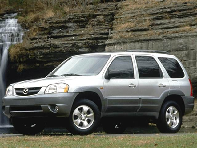 Most Popular Crossovers of 2002 - 2002 Mazda Tribute
