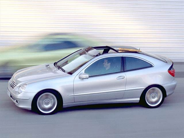 Most Popular Hatchbacks of 2002 - 2002 Mercedes-Benz C-Class