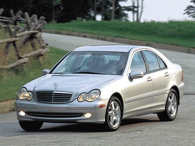 used 2002 mercedes c class c 240 sedan 4d pricing