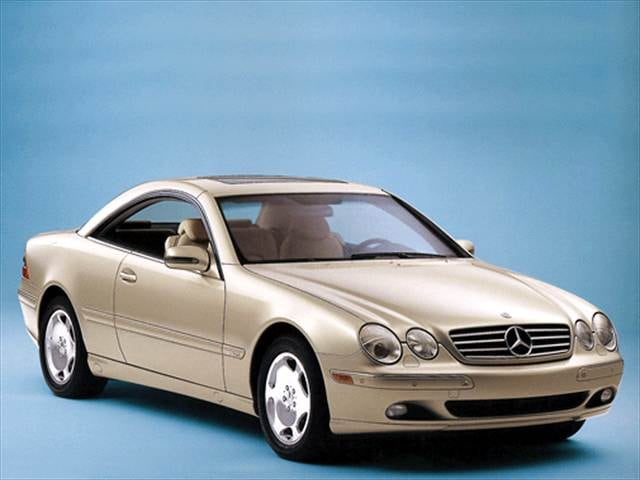 Highest Horsepower Coupes of 2002 - 2002 Mercedes-Benz CL-Class