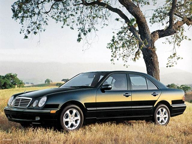 Most Popular Luxury Vehicles of 2002 - 2002 Mercedes-Benz E-Class