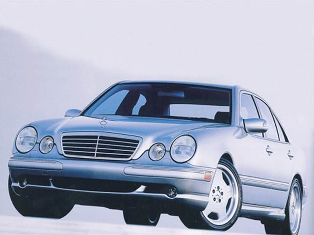 Highest Horsepower Luxury Vehicles of 2002 - 2002 Mercedes-Benz E-Class