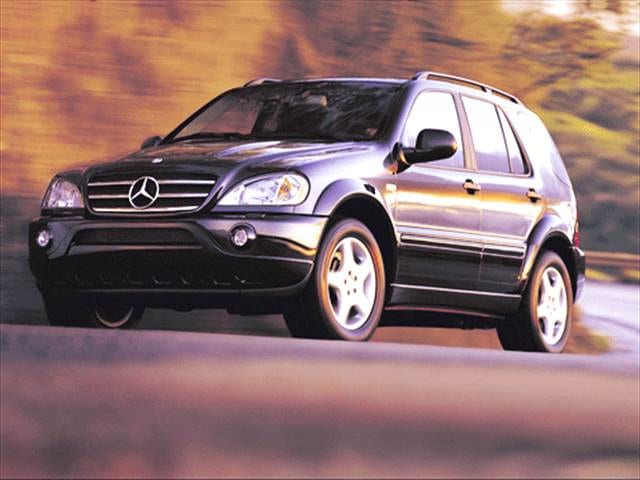 Highest Horsepower Crossovers of 2002 - 2002 Mercedes-Benz M-Class