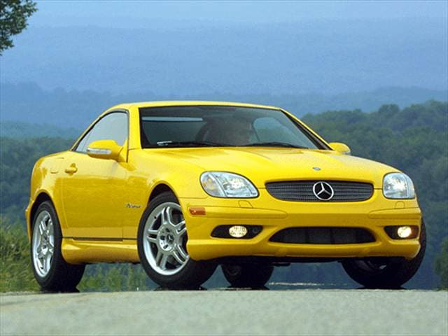 Highest Horsepower Convertibles of 2002 - 2002 Mercedes-Benz SLK-Class