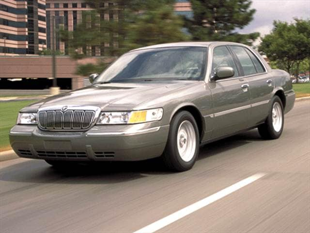 Top Consumer Rated Sedans of 2002 - 2002 Mercury Grand Marquis