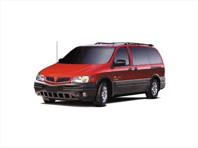Most Fuel Efficient Vans/Minivans of 2002 - 2002 Pontiac Montana
