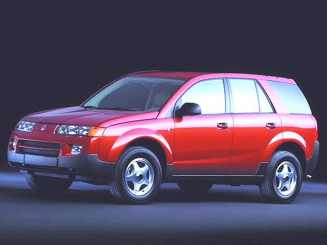Most Popular Crossovers of 2002 - 2002 Saturn VUE