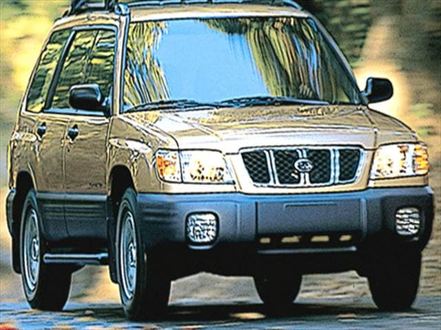 Top Consumer Rated Crossovers of 2002 - 2002 Subaru Forester