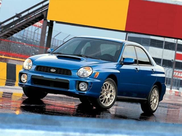Top Consumer Rated Sedans of 2002 - 2002 Subaru Impreza