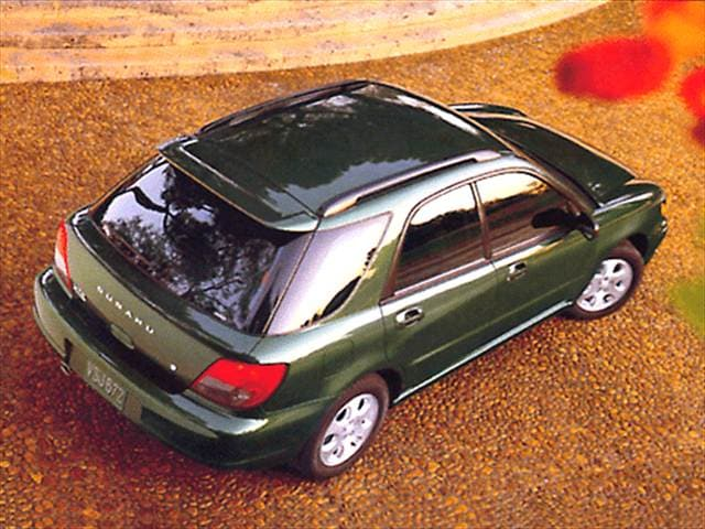 Most Popular Wagons of 2002 - 2002 Subaru Impreza